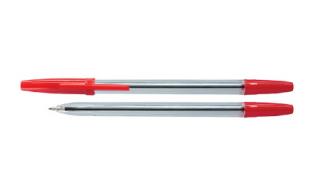 Długopis OP klasyczny czerwony