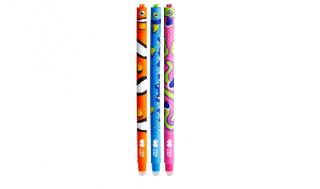 Długopis wymazywalny niebieski Rybki Happy Color