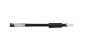 Długopis żelowy DONAU wodoodporny czarny