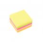 Karteczki samoprzylepne d.rect 76x76 neon 400 kartek mix kolor