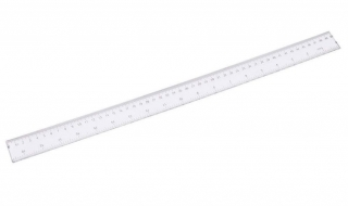 Linijka plastikowa transparentna 50cm