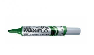 Marker do tablic Maxiflo Pentel M zielony