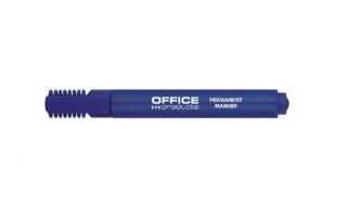 Marker permanentny OP ścięty niebieski