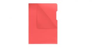 Obwoluta krystaliczna DONAU A4 czerwona