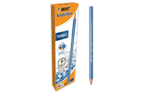 Ołówek trójkątny BIC Triangle z gumką