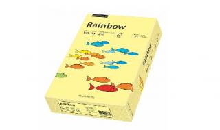 Papier kolorowy Rainbow jasny żółty A4/250ark. 160g