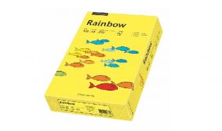 Papier kolorowy Rainbow żółty A4/250ark. 160g