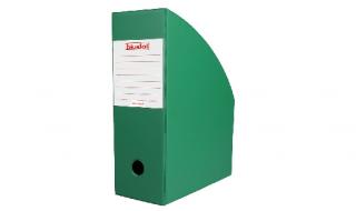 Pojemnik na dokumenty Biurfol A4/100mm zielony