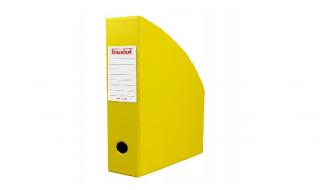 Pojemnik na dokumenty Biurfol A4/100mm żółty