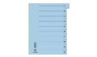 Przekładka kartonowa DONAU niebieska