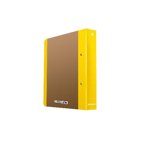 Segregator DONAU Life A4/5 cm neon żółty