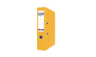 Segregator DONAU Life A4/7,5cm neon żółty