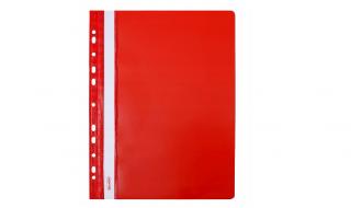 Skoroszyt Biurfol A4 miękki czerwony