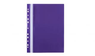 Skoroszyt Biurfol A4 miękki fioletowy