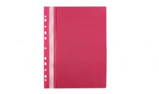 Skoroszyt Biurfol A4 miękki różowy