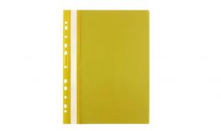 Skoroszyt Biurfol A4 miękki żółty