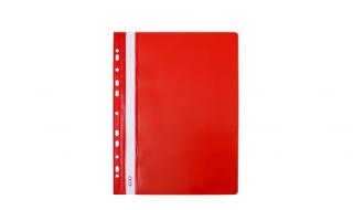 Skoroszyt Biurfol A4 twardy czerwony