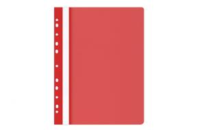 Skoroszyt OP A4 miękki wpinany czerwony