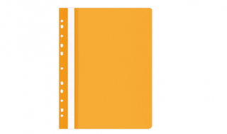 Skoroszyt OP A4 miękki wpinany pomarańczowy