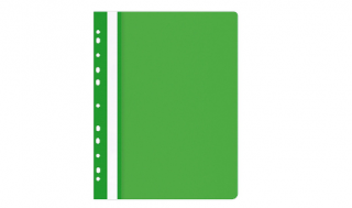 Skoroszyt OP A4 miękki wpinany zielony