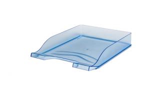 Szuflada transparentna niebieska Bantex