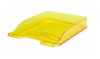 Szuflada transparentna żółta Bantex