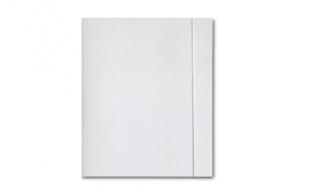 Teczka kartonowa z gumką biała A4