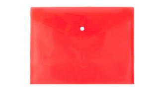Teczka kopertowa d.rect A4 PP różowa
