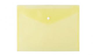Teczka kopertowa d.rect A4 PP żółta