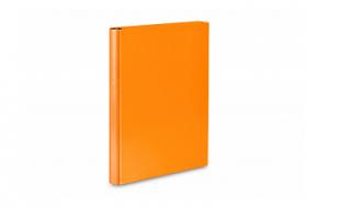 Teczka skrzydłowa z rzepem A4 pomarańczowa VauPe