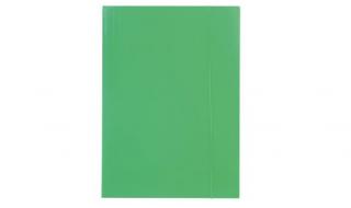 Teczka z gumką Barbara zielona