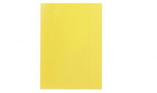 Teczka z gumką Barbara żółta