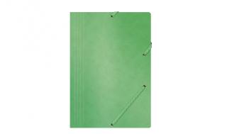 Teczka z gumką OP preszpanowa A4 zielona