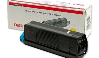 Toner do OKI C3100/5100 yellow