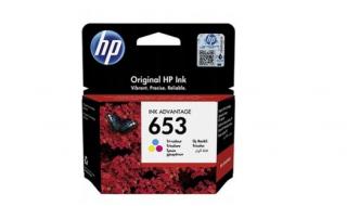 Tusz HP No 653 color [200str] oryginał