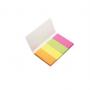 Zakładki indeksujące d.rect neon 20x50mm mix kolor