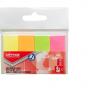 Zakładki indeksujące OP 20x50mm mix kolor neon