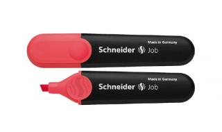 Zakreślacz SCHNEIDER Job czerwony