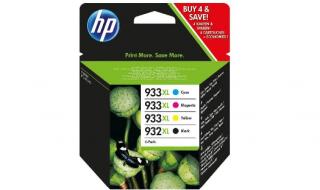 Zestaw tuszy HP No 932XL+933XL [CMYK] oryginał